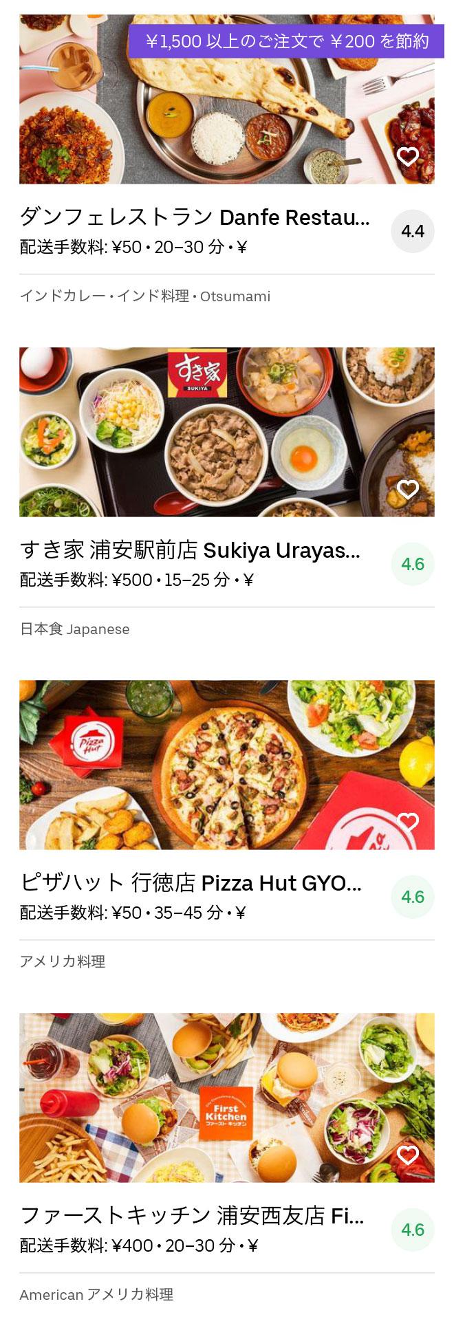 Ichikawa gyotoku menu 2004 04