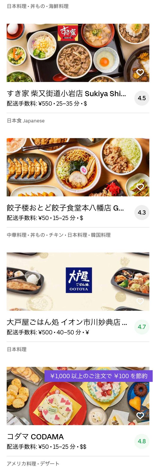 Ichikawa motoyawata menu 2004 08