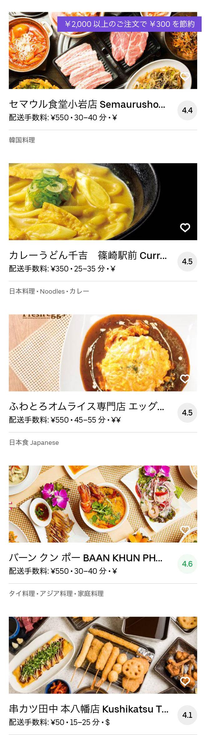 Ichikawa motoyawata menu 2004 11