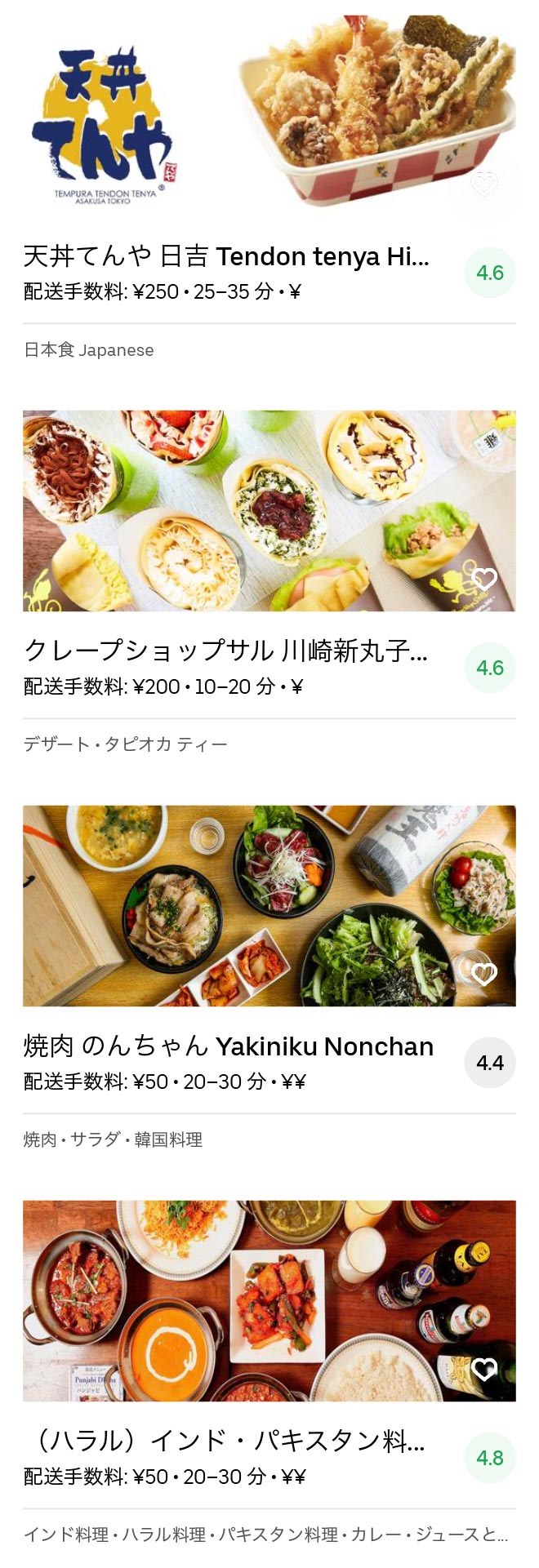 Musashikosugi menu 2004 08