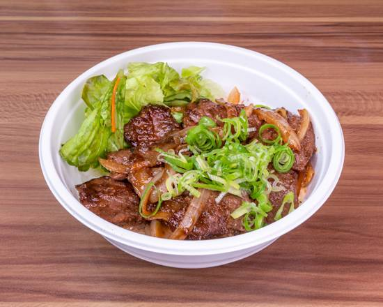 0 koushien bistro japan beef ricebowl