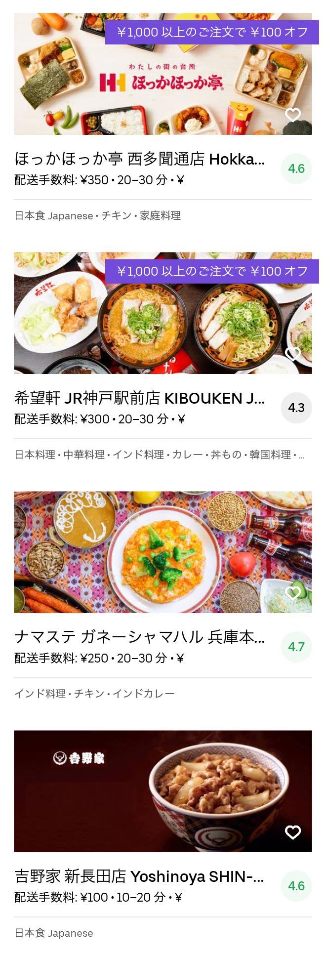 Kobe shin nagata menu 2005 05