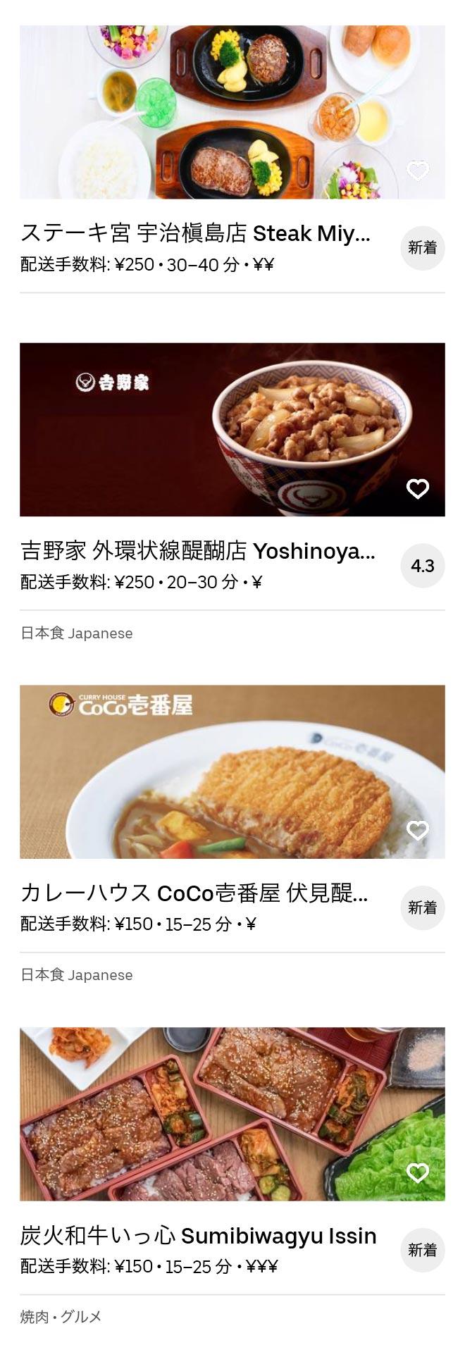 Uji rokujizo menu 2005 03