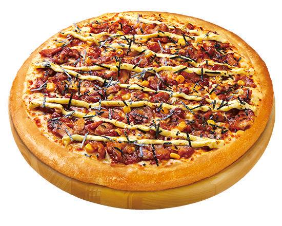 0 gokou pizza hut teriyaki mayo