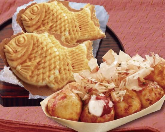 0 yotsukaido hitokuchi cyaya taiyaki takoyaki