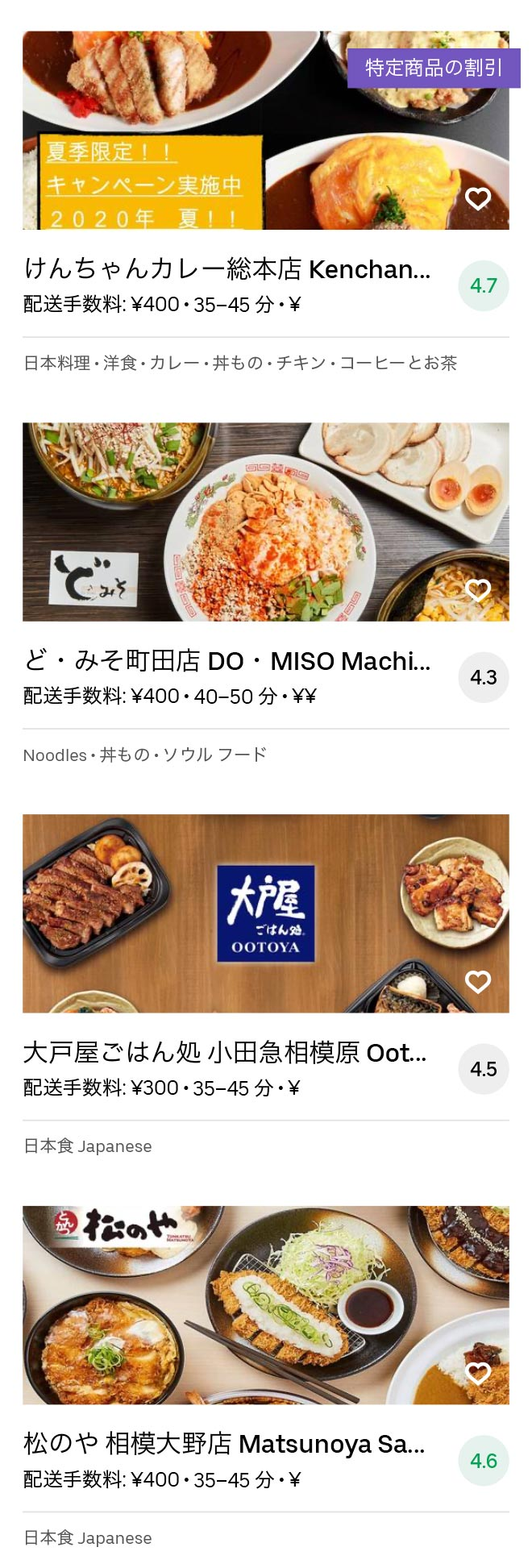 Chuo rinkan menu 2008 08
