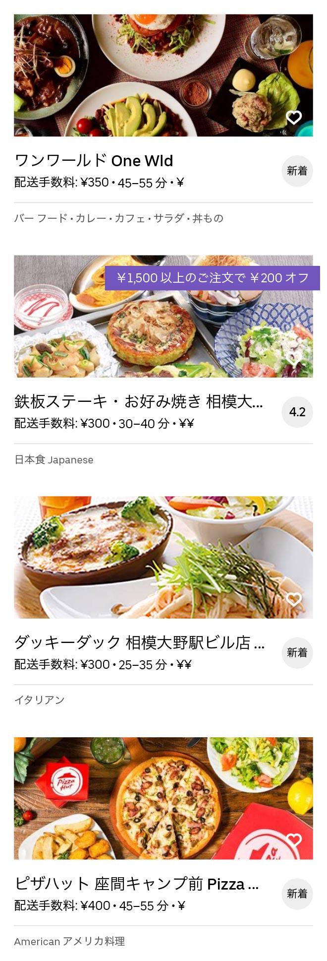 Chuo rinkan menu 2008 12