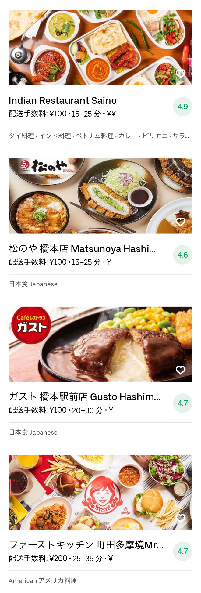 Hashimoto menu 2008 05