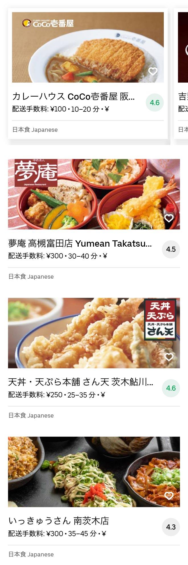 Ibaraki shi menu 2008 03