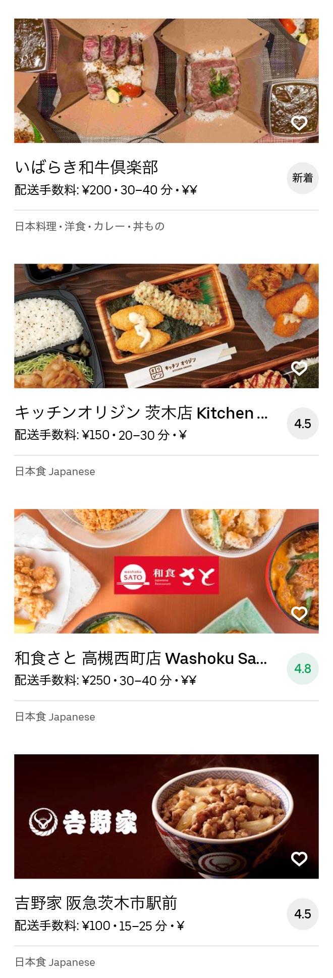 Ibaraki shi menu 2008 04