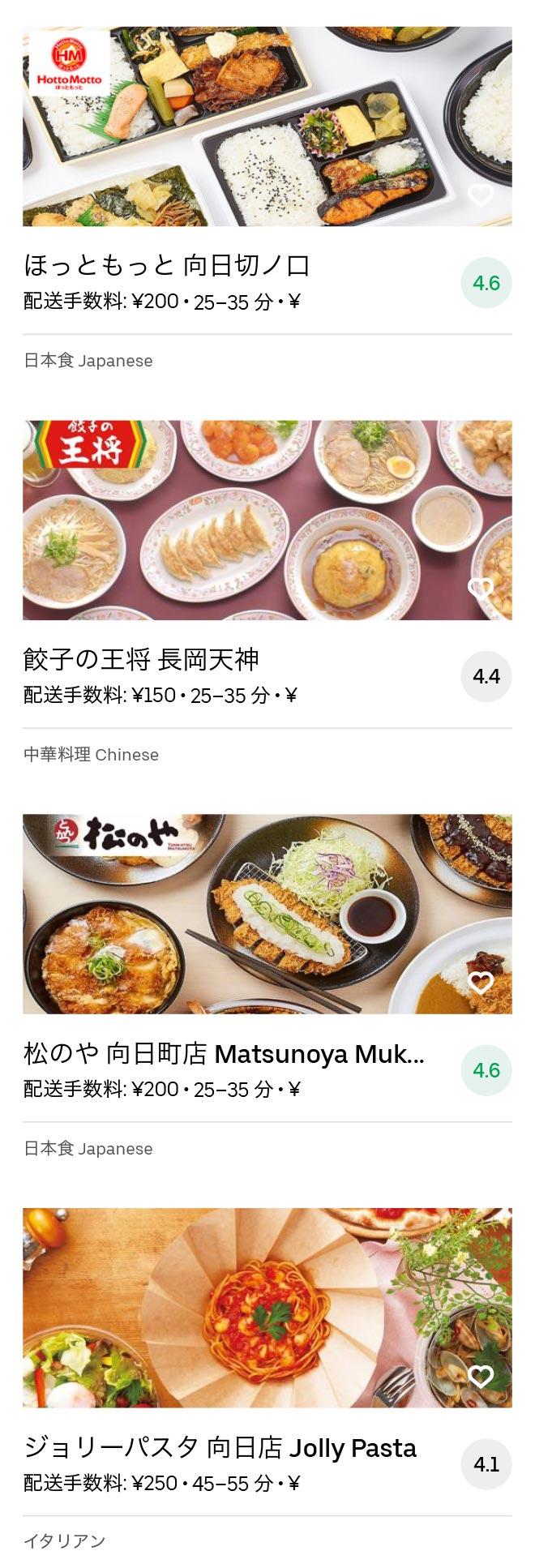 Nagaokakyo menu 2008 03