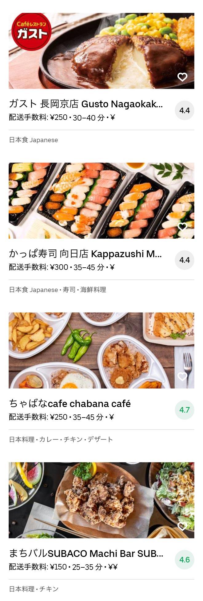Nagaokakyo menu 2008 04
