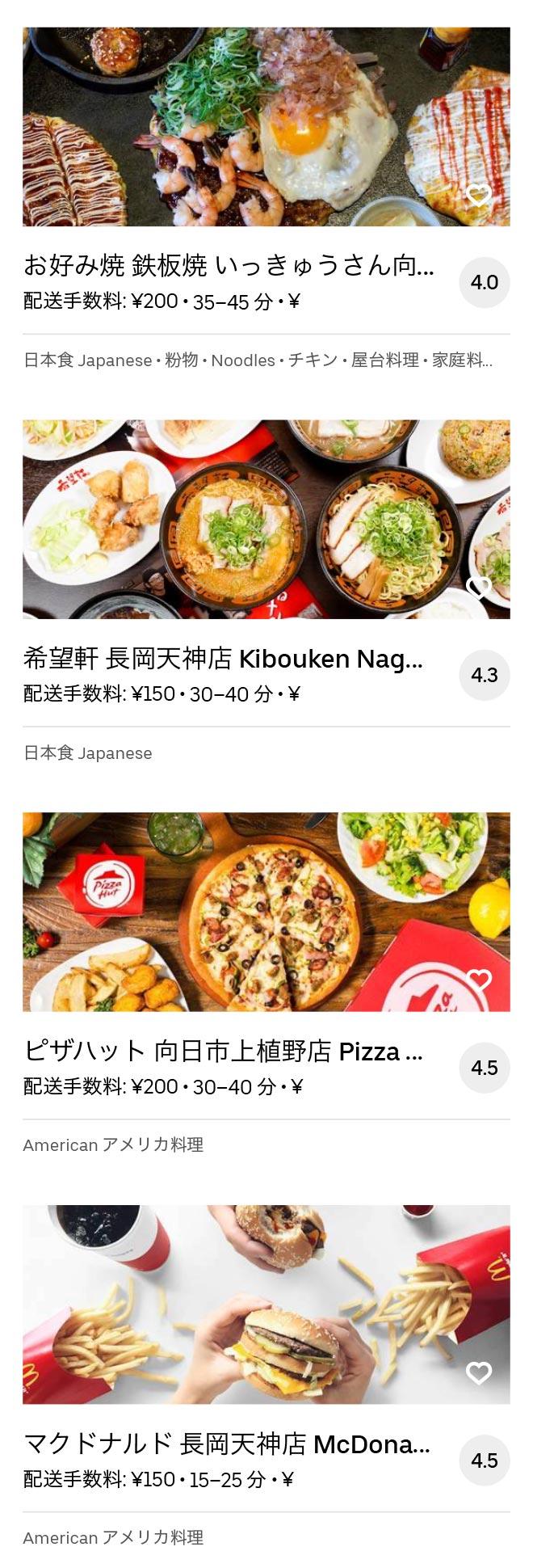 Nagaokakyo menu 2008 06