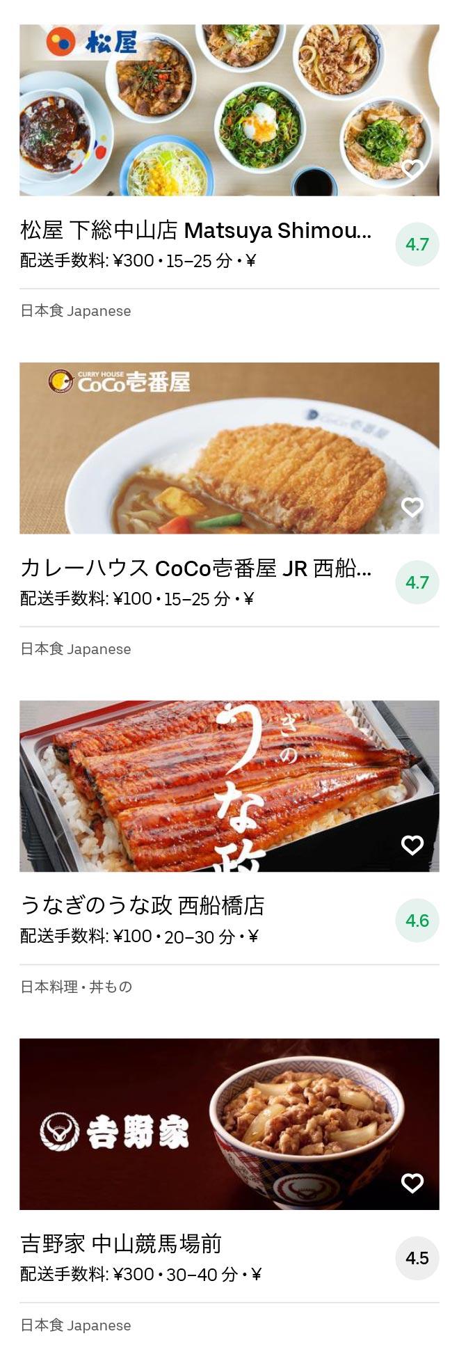 Nishi funabashi menu 2008 06
