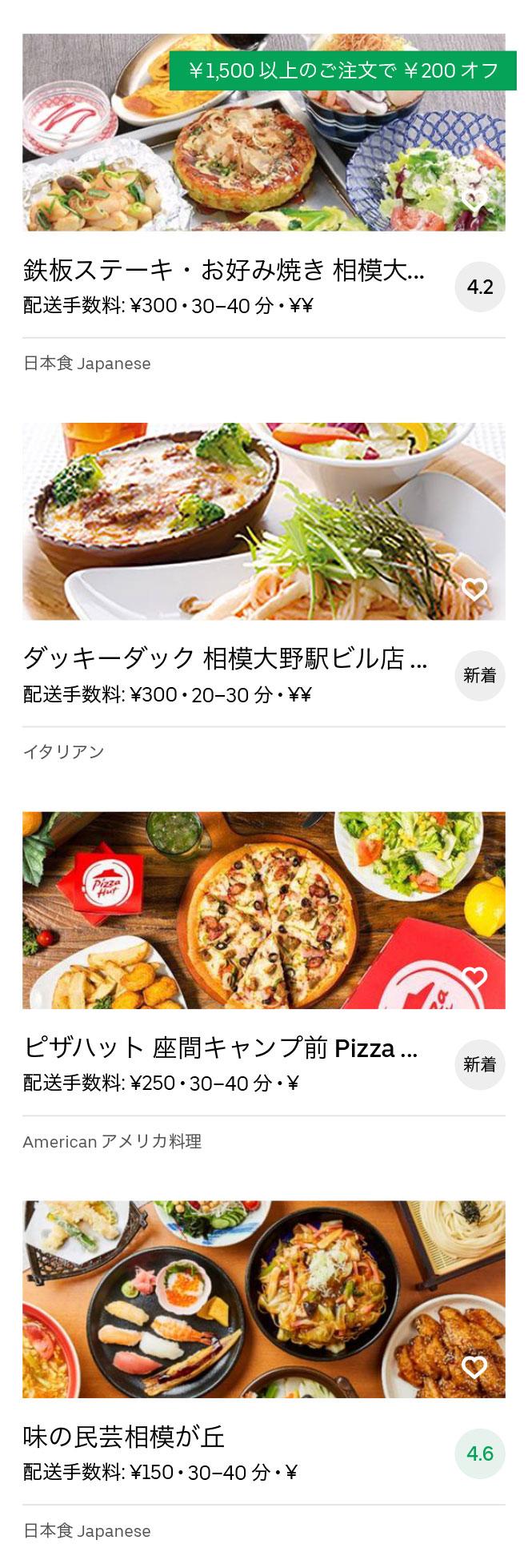 Odakyu sagamihara menu 2008 11