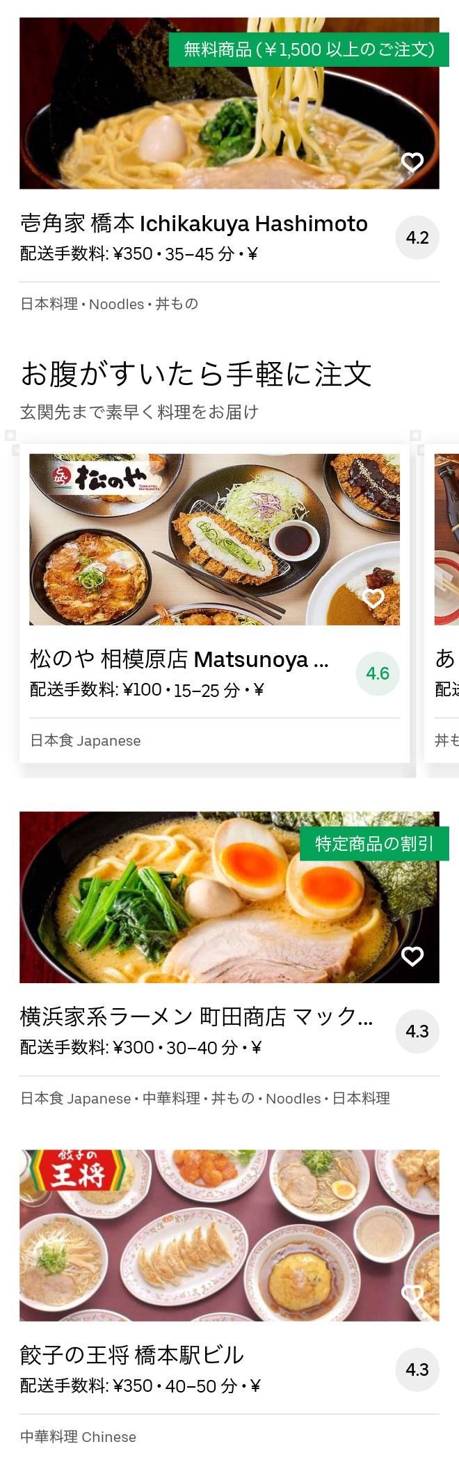 Sagamihara menu 2008 03