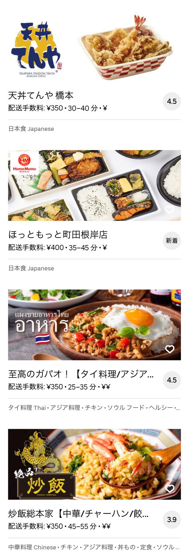 Sagamihara menu 2008 07