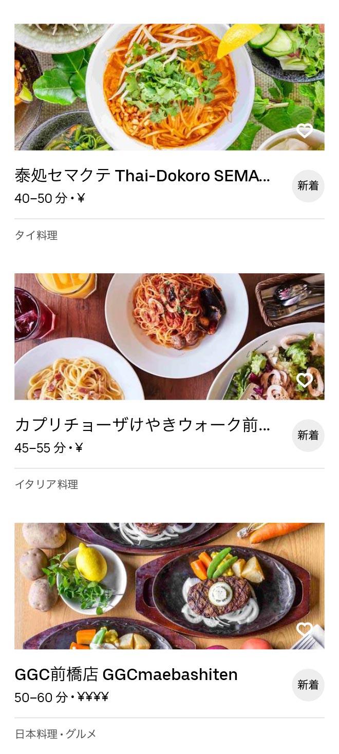 Shin maebashi menu 2009 3