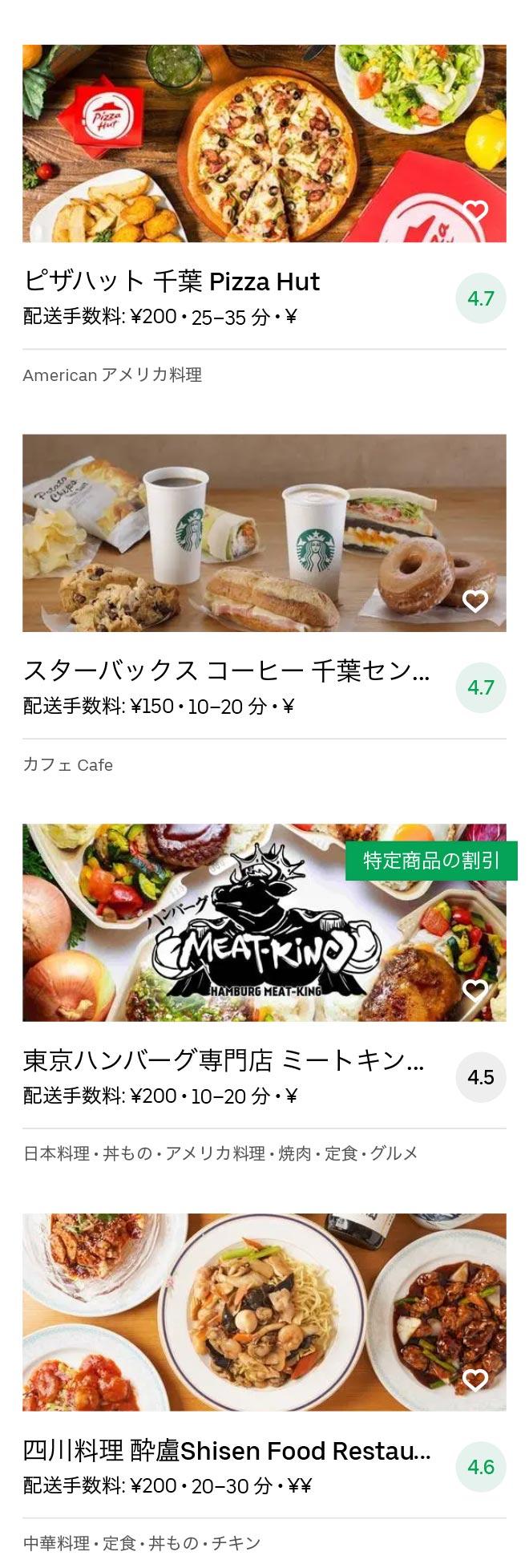 Chiba menu 2010 12