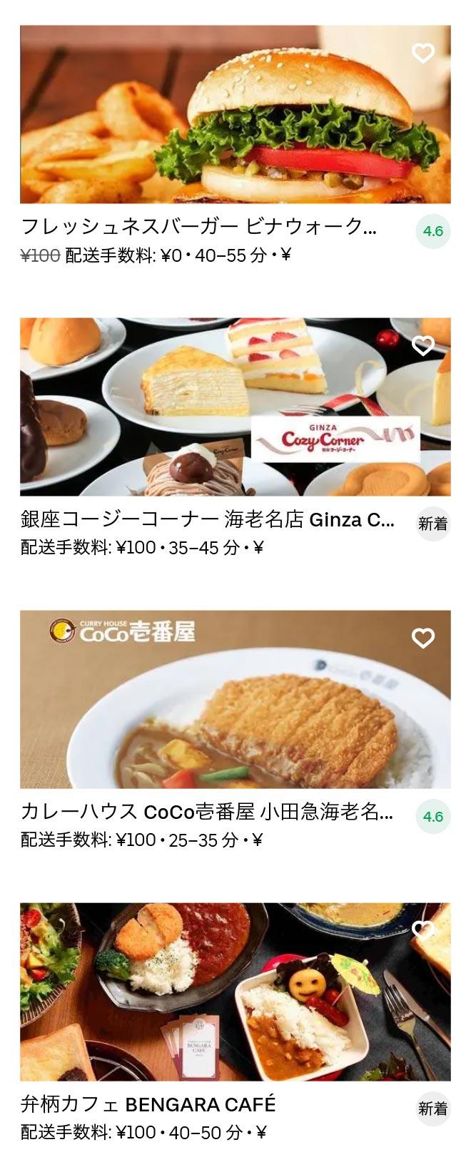 Ebina menu 2010 08