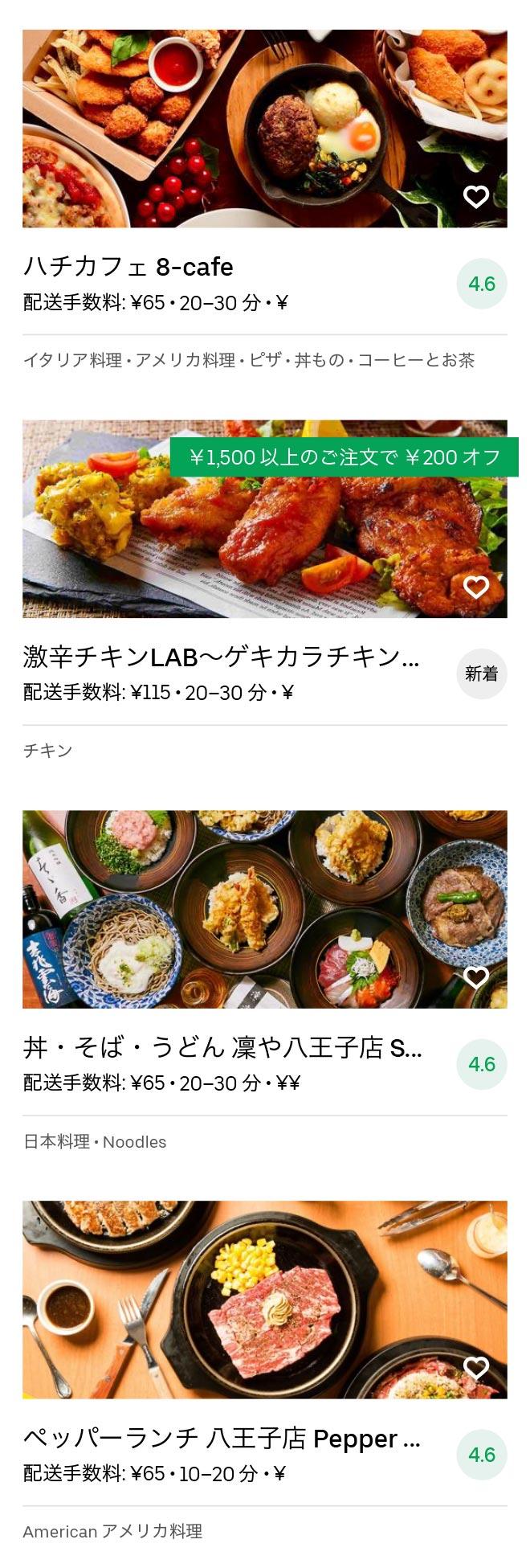 Hatioji menu 2010 10