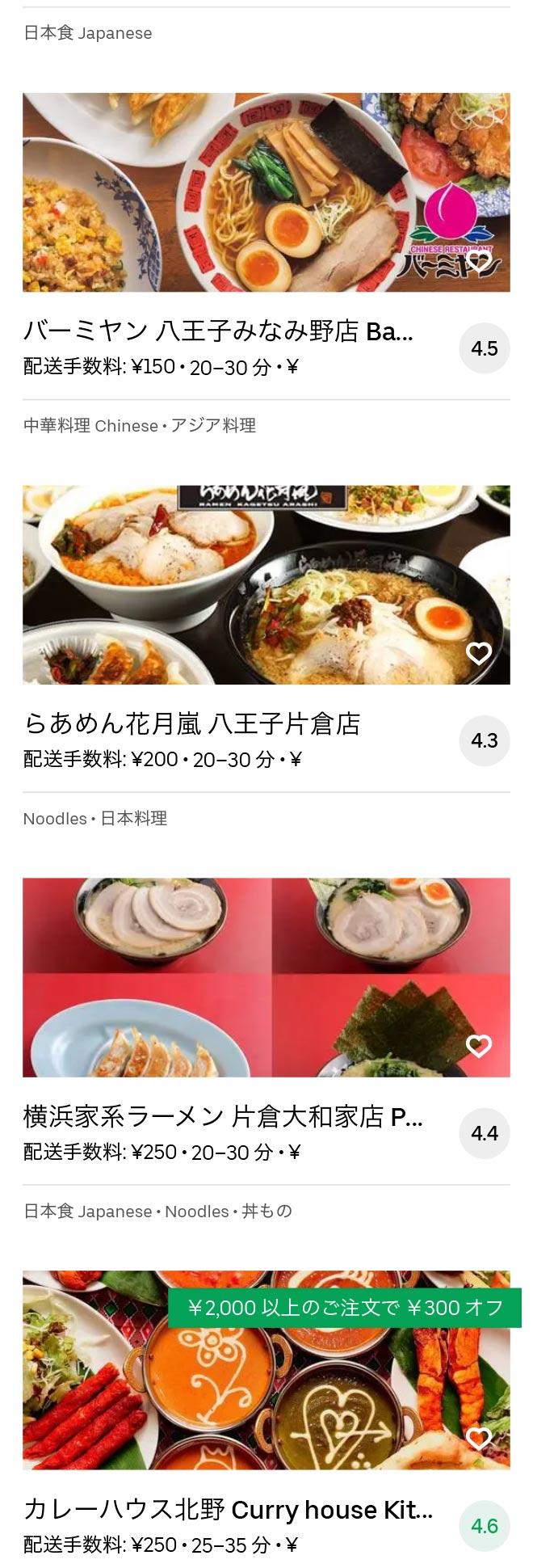 Hatioji minamino menu 2010 02