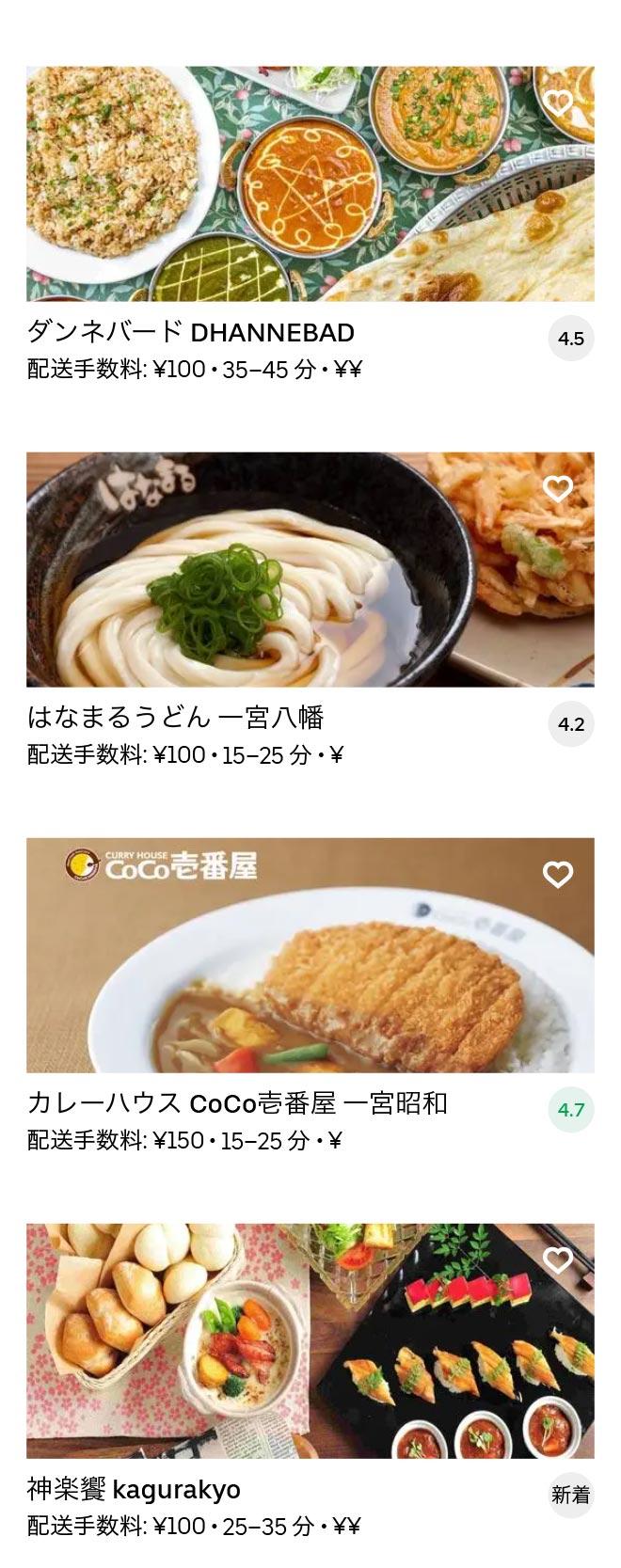 Ichinomiya menu 2010 03