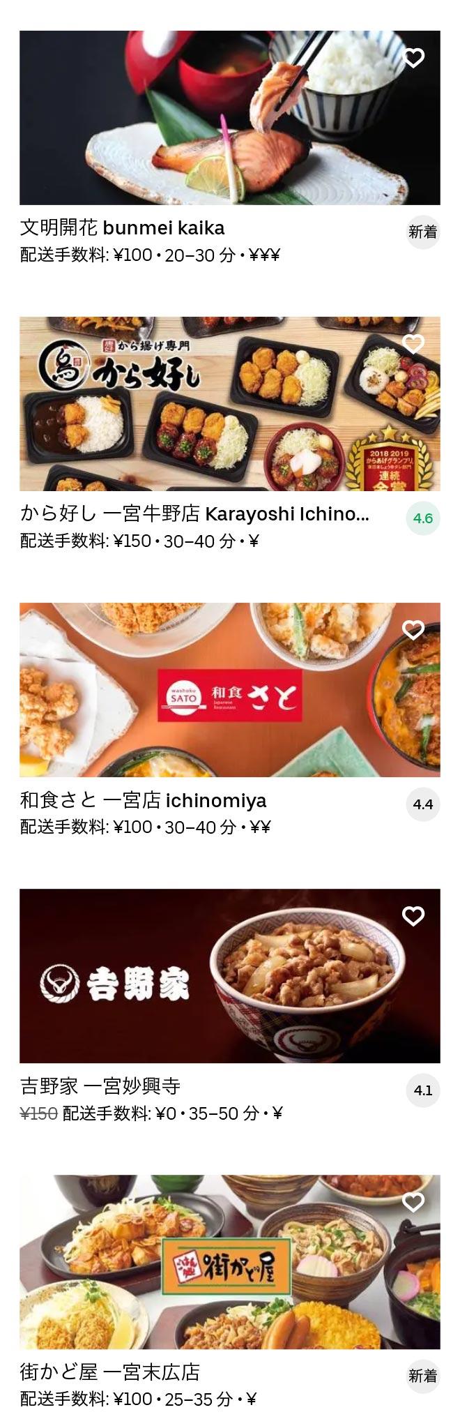 Ichinomiya menu 2010 04