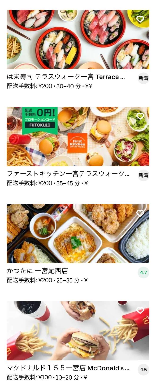 Ichinomiya menu 2010 08