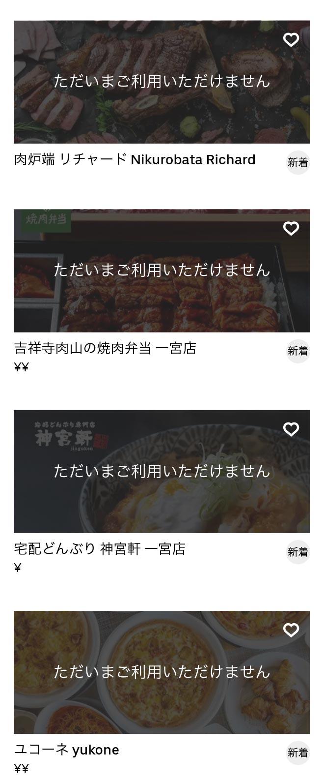 Ichinomiya menu 2010 10