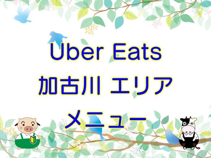 Uber Eats(ウーバーイーツ)加古川エリア・メニューのキャッチ画像