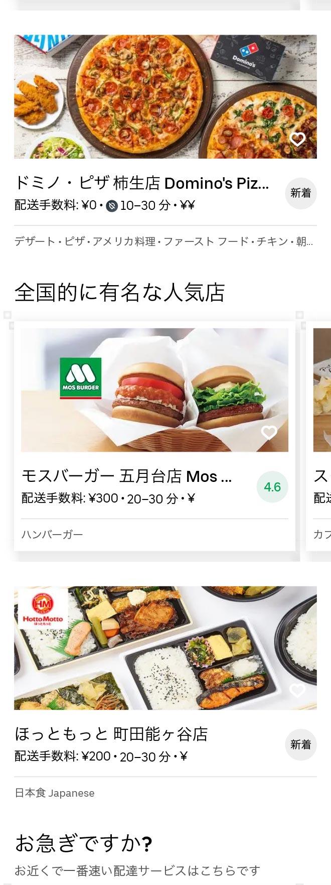 Tsurukawa menu 2010 02