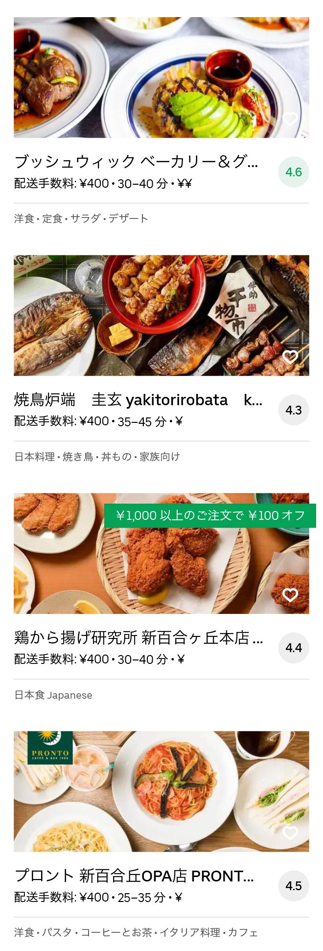 Tsurukawa menu 2010 09