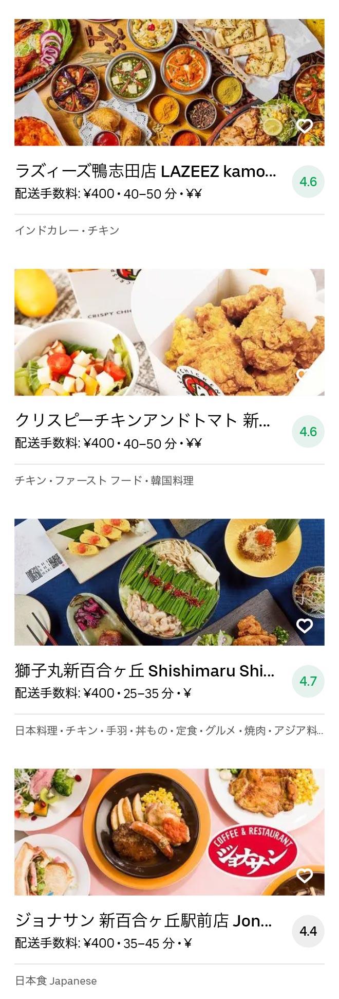Tsurukawa menu 2010 10