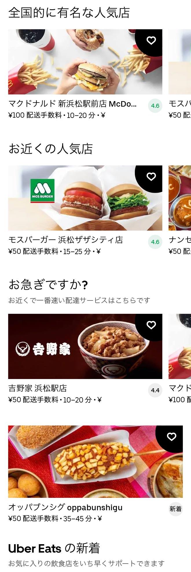 Hamamatsu menu 2011 01
