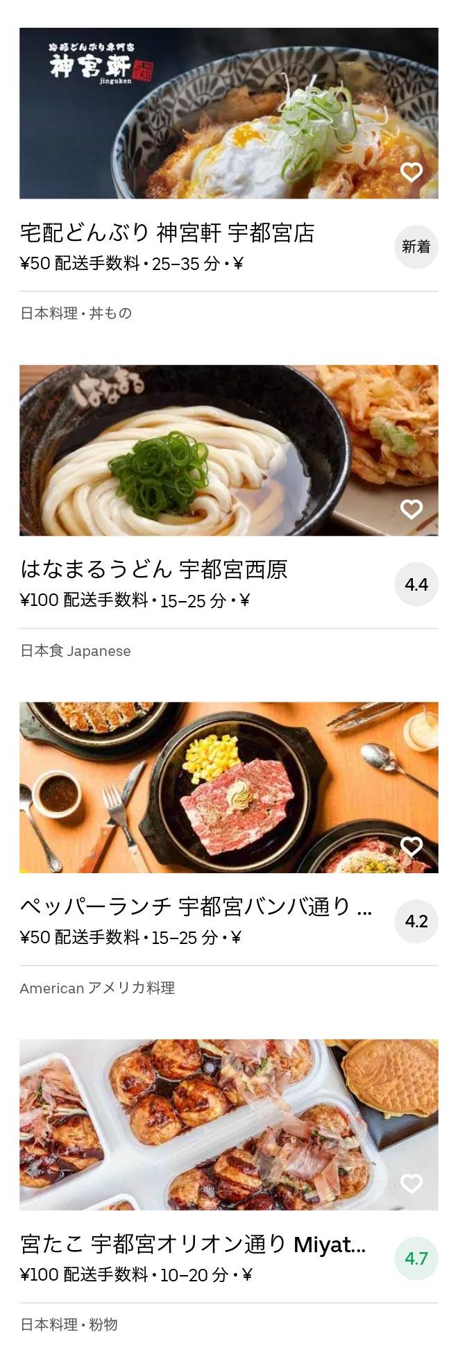 Tobu utsunomiya menu 2010 03