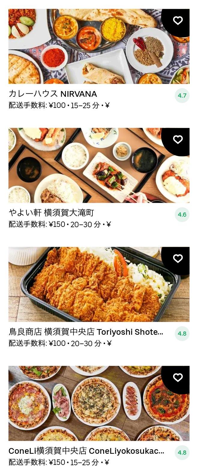 Yokosuka chuo menu 2011 04
