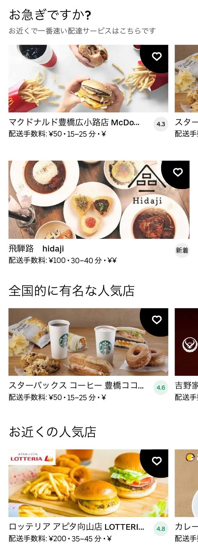 Toyohashi menu 2012 01
