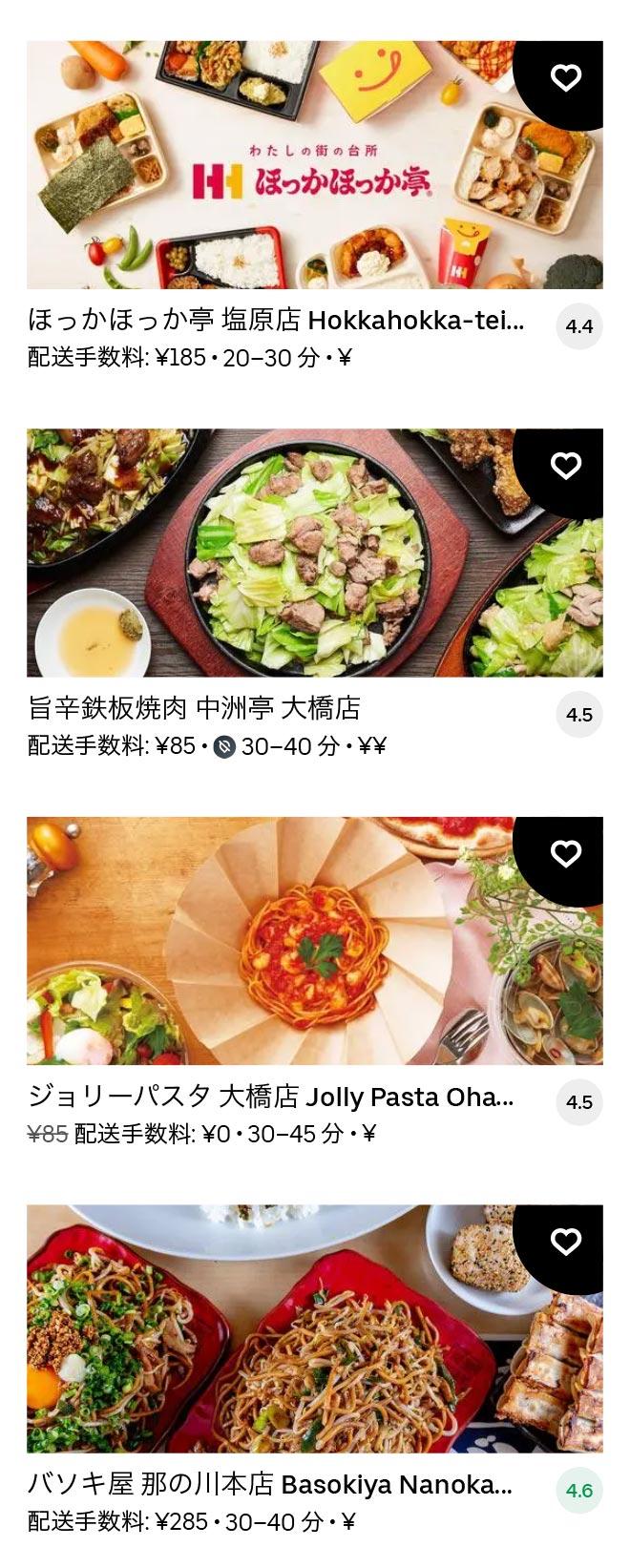 Oohashi menu 2101 10