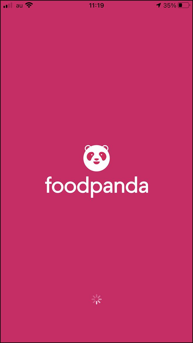 Foodpanda order 01