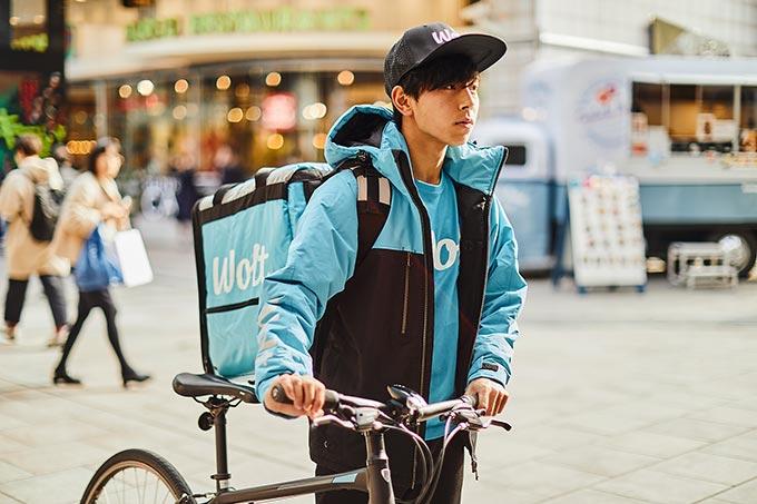 Wolt(ウォルト)自転車・配達員イメージ