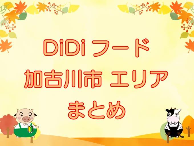 DiDiフード(ディディフード)加古川市のキャッチ画像